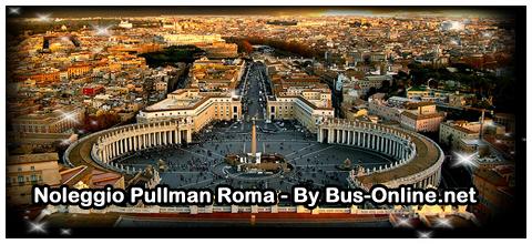 noleggio pullman roma