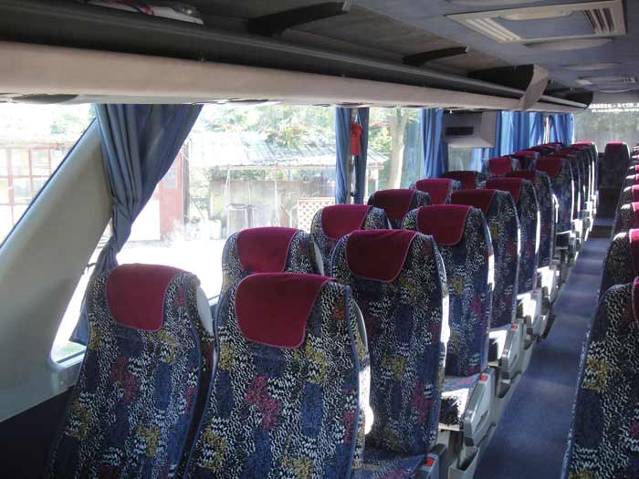 Bus alfa tour roma 3 bus for Interno autobus