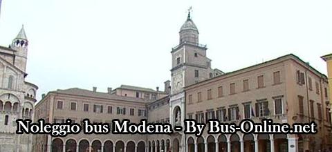 noleggio bus modena