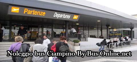 noleggio bus ciampino